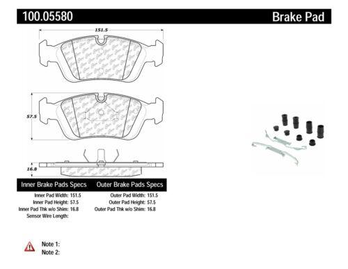 OE Formula Brake Pads w/Hardware fits 1994-2008 BMW 325i
