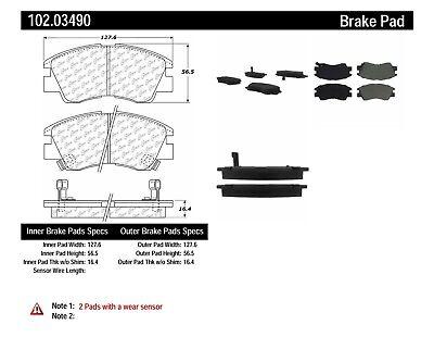 C-TEK Metallic Brake Pads fits 1986-1994 Mitsubishi Mighty Max Van Montero  C-TE