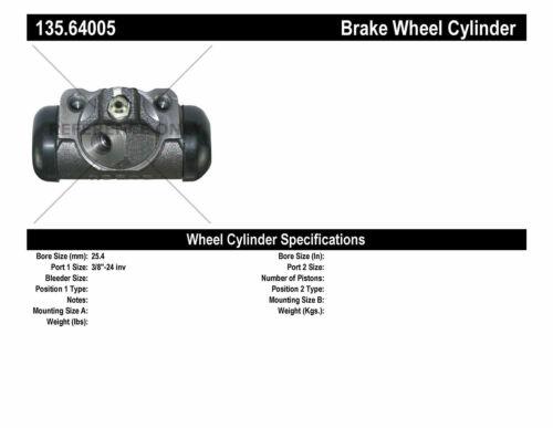 Centric Parts 135.64005 C-Tek Standard Wheel Cylinder INC.