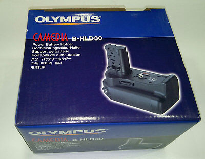 Olympus B-HLD30 Power Battery Holder for the C-8080 Wide Zoom 200439 Olympus Power Battery Holder