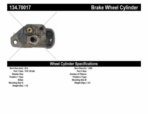 WC Fit Drum Brake Wheel Cylinder Front Left W9695 WC9695 International