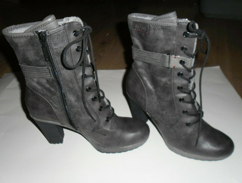 Ankle Boots Schuhe Stiefel  von s.Oliver  in grau Größe 41 NEU
