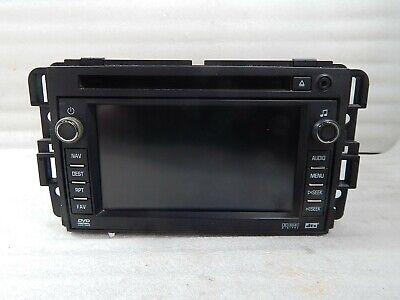 Chevrolet Silverado 1500 CD DVD Player Navigation Radio Receiver 25894202 OEM