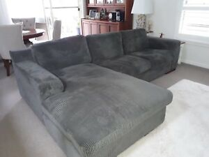 Magnum Chaise & 2.5 seater lounge couch sofa