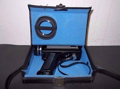 PORST - Reflex ZR 422 - Super 8 mm Kamera mit Tasche - antike Filmkamera