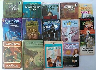 Scary Books For Halloween (15 Scary Books for Halloween The Mystery of the Whispering Mummy Haunted)