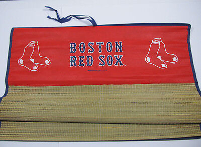 Boston Red Sox Bamboo Beach Mat 29