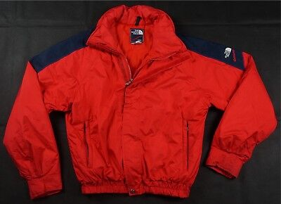 642eedf3ed9 Rare Vintage THE NORTH FACE Extreme Gore-Tex Spell Out Ski Jacket 90s TNF  Red M