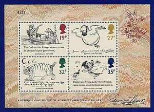 GB 1978 - 2005 Mini / Miniature Sheets  ( Multiple Listing ) mint /  mnh