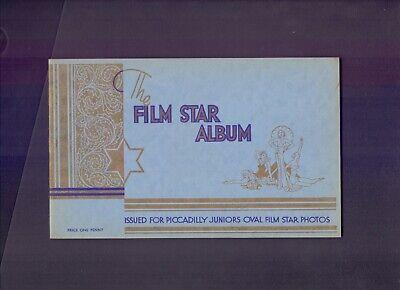 Original Carreras Film Star Album for Piccadily Juniors Oval Film Stars   (Films For Juniors)