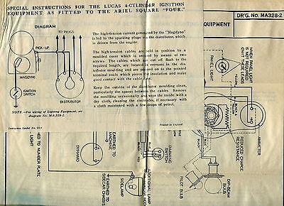 ariel motorcycle wiring diagram ariel image wiring 1930s vintage lucas wiring diagrams ariel motorcycle on ariel motorcycle wiring diagram