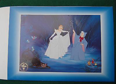 Disney's Cinderella Lithograph - Vintage Movie Memorabilia - Wall Art - 1997
