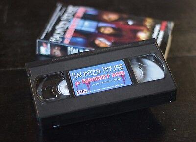 Haunted House On Sorority Row - OOP Halloween VHS Edition](Halloween Haunts Vhs)