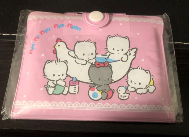 Sanrio Nya Ni NYU NYE NYON Mini Suitcase Notepad Stationary Trinket