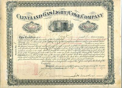 Cleveland Gas Light & Coke Company 1890
