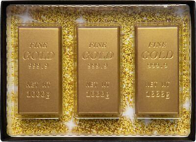 Schokoladen Goldbarren- Geschenkpackung ()