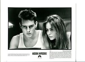 Tom-Cruise-Emanuelle-Beart-Mission-Impossible-Original-Press-Still-Movie-Photo