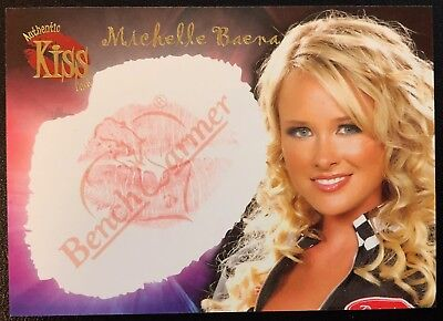 MICHELLE BAENA - BENCH WARMER 2006 SERIES 2 - LIMITED 'KISS' TRADING CARD