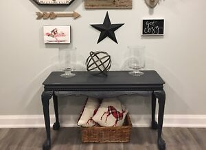 Console table vintage sofa table