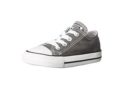 Converse All Star Shoes For Girls (Converse All Star Chuck Taylor Infant Toddler Shoes for Girls Charcoal)