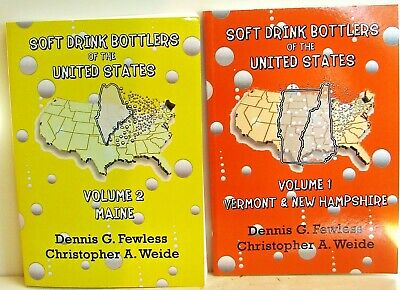Soft Drink Bottlers of the United States Vol. 1 & 2 - ME/VT/NH; books