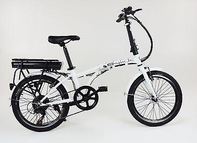 """e-glide E bike ELECTRIC BICYCLE 20"""" Folding Bike ** BRAND NEW **"""