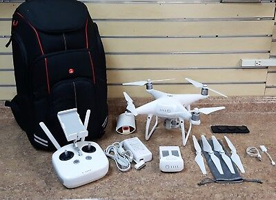 DJI Phantom 4 Pro Quadcopter Drone w/ Camera & Backpack Free Shipping