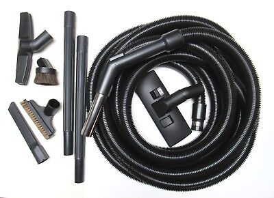 Crushproof Complete Central Vac 9pc Tool Kit and 30' Hose BLACK   (Complete Vac)