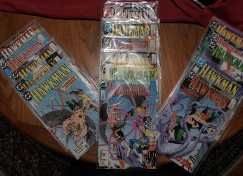 Vintage Hawkman DC Comics - August 1986 thru December 1987 - in sleeves