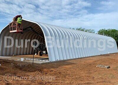 Durospan Steel 32x40x18 Metal Building Kit Garage Diy Home Shed Open Ends Direct