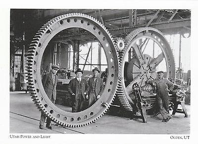 """*Utah Postcard-""""Utah Power & Light"""" /Began 1913/ *Ogden, UT (+A323)"""