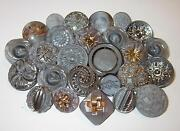 Vintage Glass Buttons Lot