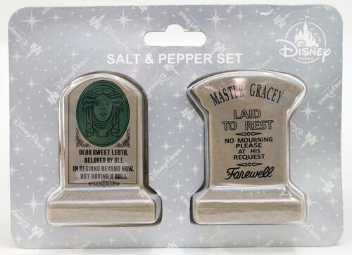 New Disney Parks Haunted Mansion Leota & Master Gracey Salt & Pepper Shaker Set