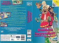Bambini Impossibili (1993) Vhs Ex Noleggio -  - ebay.it