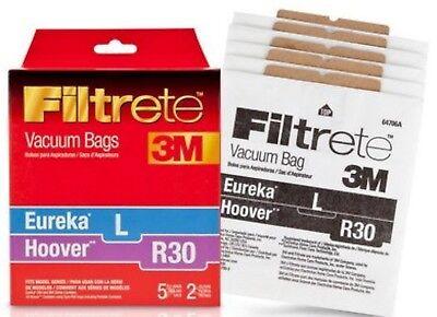 - NEW Filtrete 3M Hoover R30/Eureka L Vacuum BAGS + FILTERS Combo Pack 64706 OEM