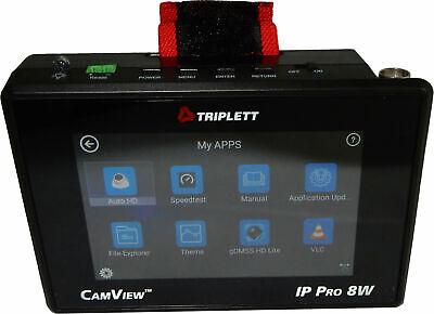 Triplett 8066 Camview Ip Pro 8w Cctv Camera Tester Wrist Mount