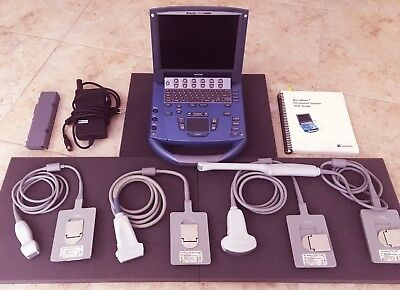 Sonosite Micromaxx Ultrasound System W 4x Probes Fully Loaded