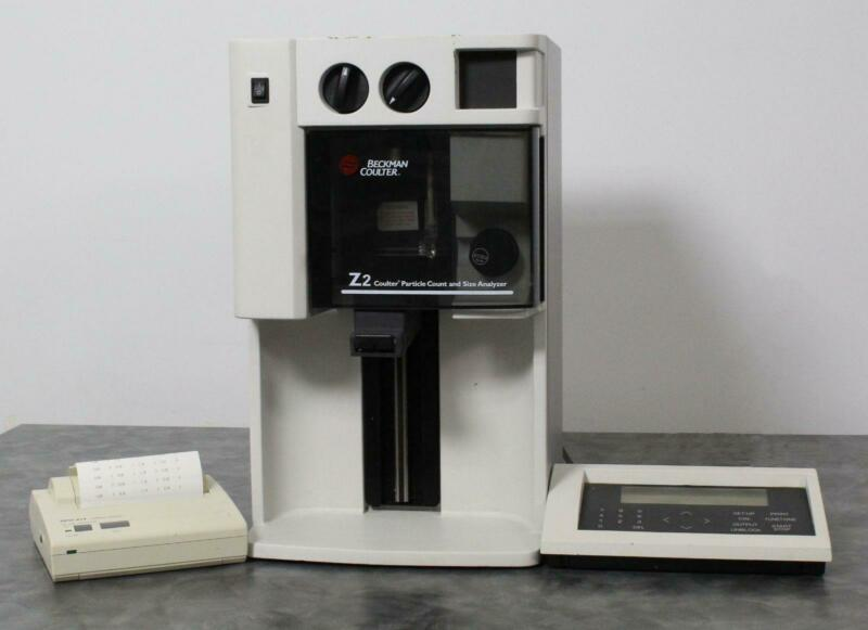 Beckman Coulter Z2 Cell Counter Particle Size Analyzer with Control Panel