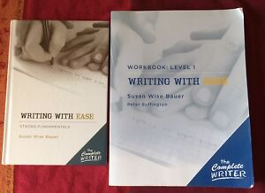 Writing with Ease (Hardcover and Level 1 Workbook) - New