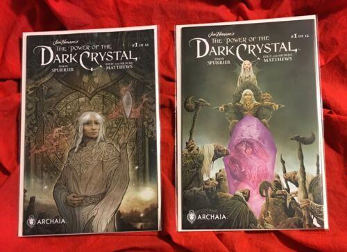 The Power of the Dark Crystal #1 Regular+Subscription (Set)~Archaia Jim Henson