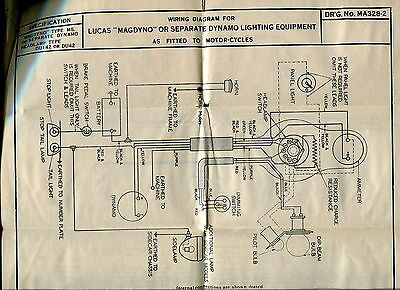 ariel motorcycle wiring diagram ariel image wiring 1930s vintage lucas wiring diagrams ariel motorcycle on ariel motorcycle wiring diagram