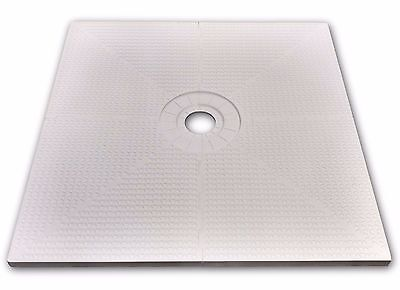 "TruGard 48"" x 48"" TruSlope Shower Tray - Center Seep"