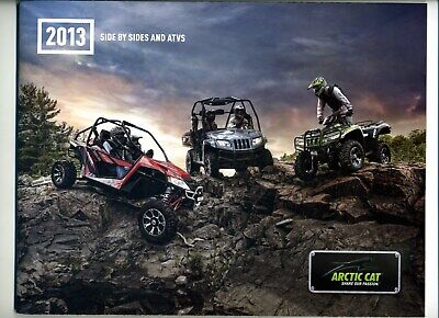 2013 Arctic Cat Side By Side And ATV Sales Brochure/Catalog