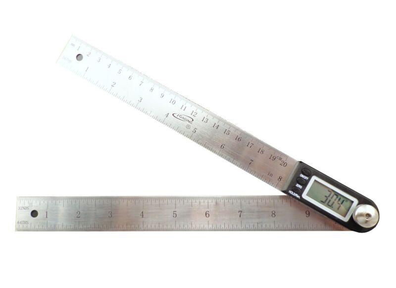 """iGaging 10"""" Electronic Digital Protractor Goniometer Angle Finder Miter Gauge"""