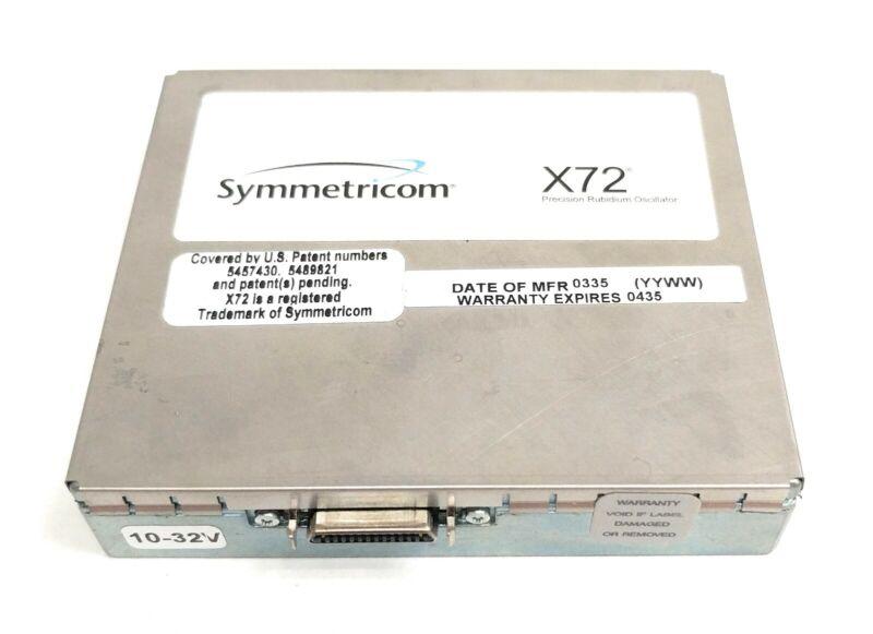 Symmetricom X72 Rubidium Oscillator STD 10MHz 1pps