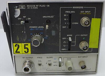 Agilenthp 86222b Plug-in 0.01-2.4 Ghz
