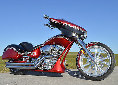 2009 Big Dog BULLDOG PRO STREET SOFTAIL CHOPPER BAGGER  2009 BIG DOG BULLDOG PRO STREET SOFTAIL CHOPPER BAGGER 15TH ANNIVERSARY 3,248 mi
