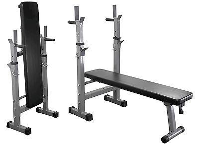 Gewichteheben Bench Dip Station Zusammenfaltbar & Verstellbar Steigung & Wohnung