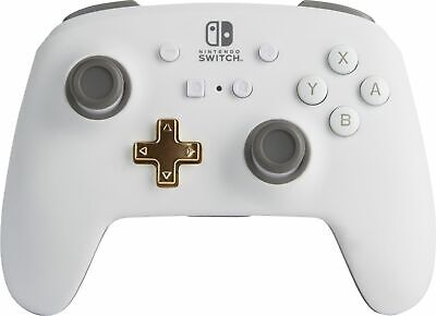 PowerA - Enhanced Wireless Controller for Nintendo Switch - White