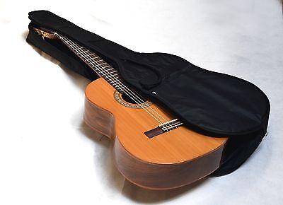 Sehr edler Gitarren Ledergurt schwarz//rote Naht aus Echtleder 125-155 cm Länge